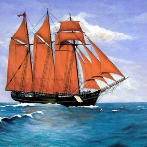 Kathleen & May, Original Sails