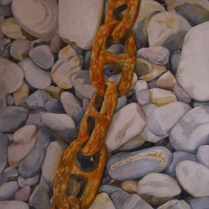 Boat Chains on Clovelly Beach